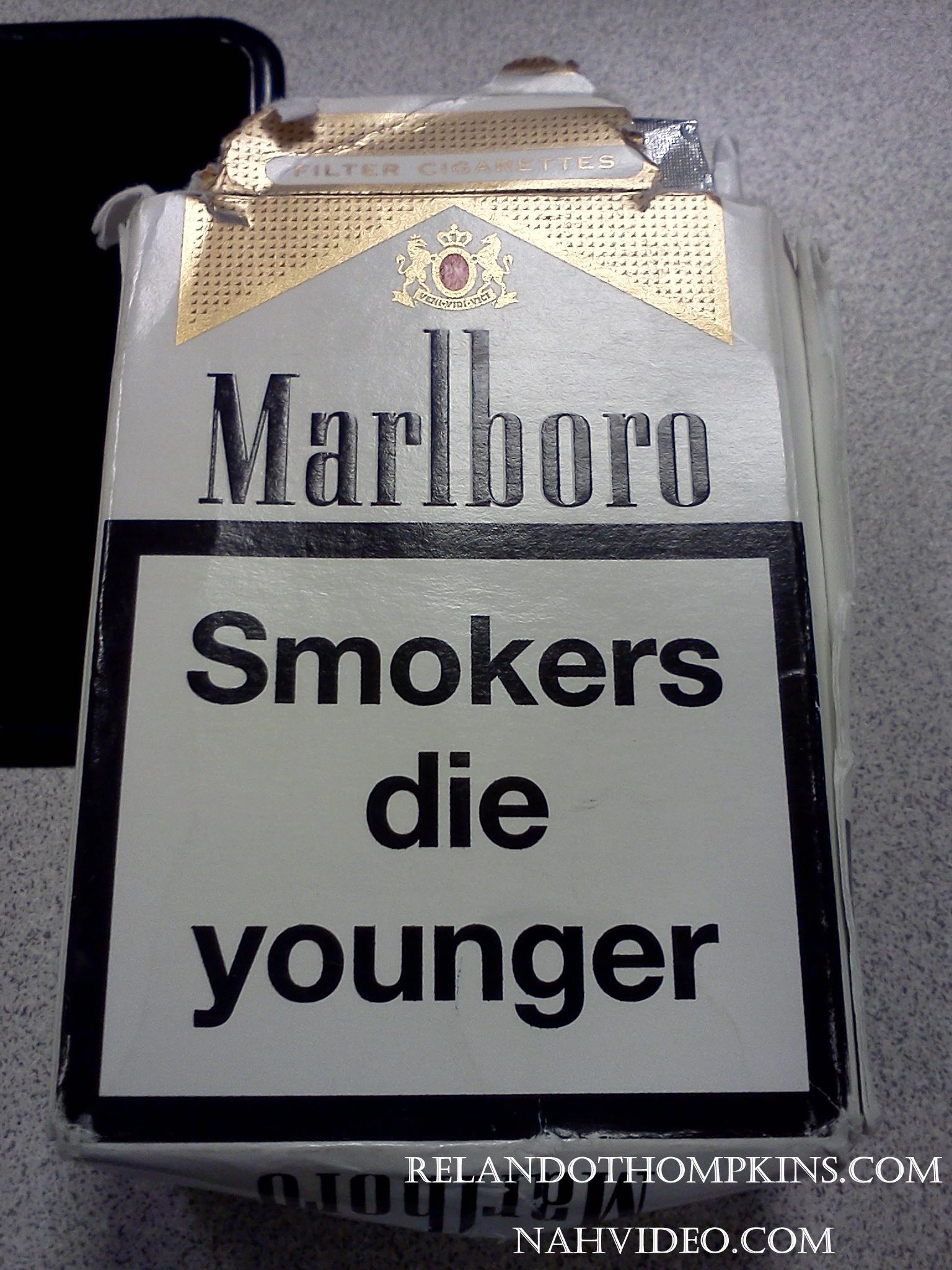 Dating a smoker boyfriend